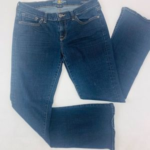 Lucky Brand Womens Jeans 8 Blue Charlie Baby Boot